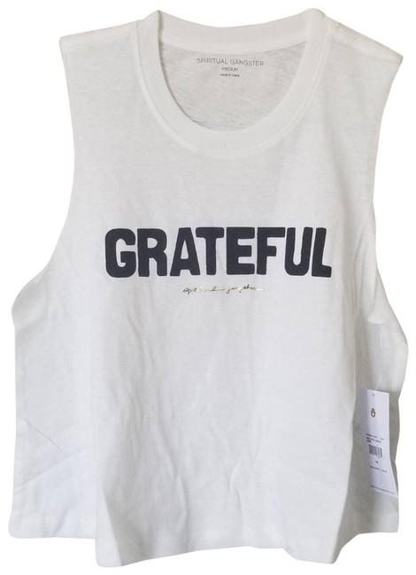 Item - White Grateful Activewear Top Size 8 (M)