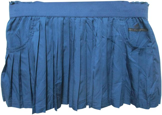 Item - Blue Pleated Elastic Waist Pockets New Large Activewear Bottoms Size 12 (L, 32, 33)