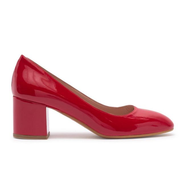 Item - Red Patent Leather Slip-on Pumps Size EU 36 (Approx. US 6) Regular (M, B)