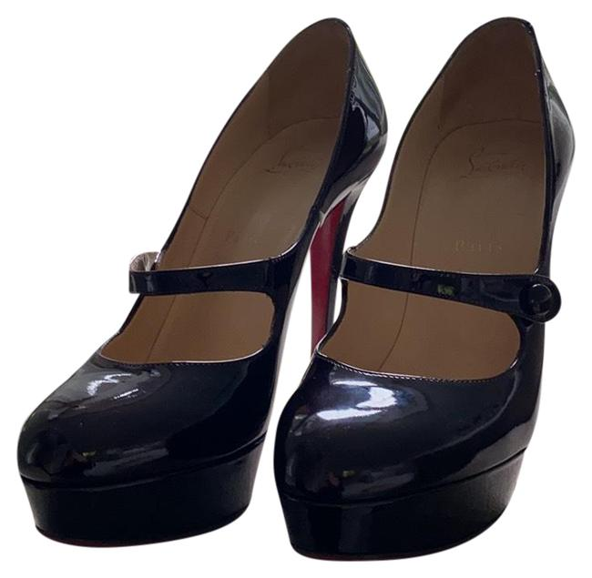 Item - Eggplant Patent Leather Relika 140 Mary Jane Pump Platforms Size EU 39.5 (Approx. US 9.5) Regular (M, B)