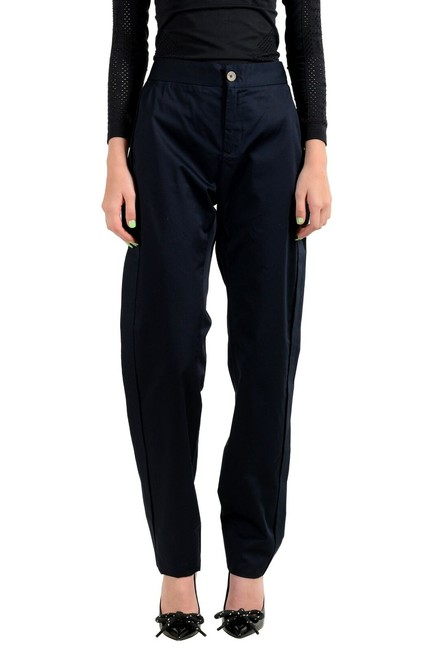 Item - Navy Blue Women's Flat Front Pants Size 8 (M, 29, 30)