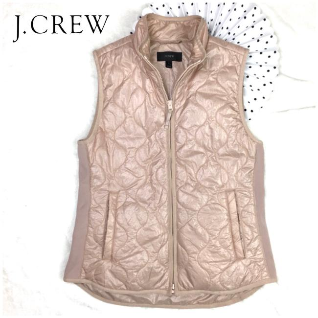 Item - Blush Pink Lightweight Zip Quilted Puffer Vest Size 6 (S)