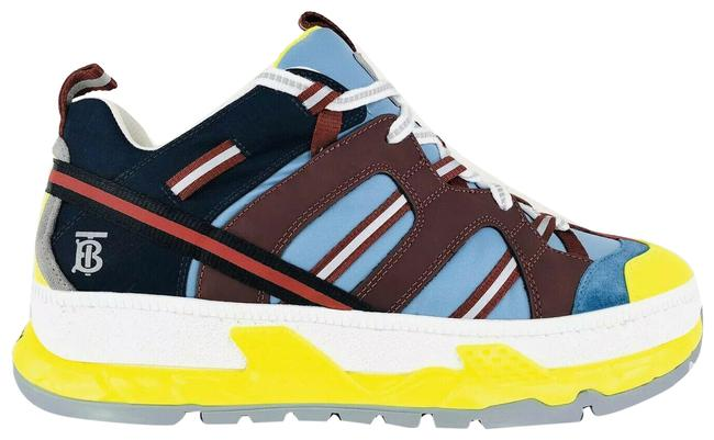 Item - Blue Men's Union Icon Stripe Mixed-media - Eu 45 Sneakers Size US 12 Regular (M, B)