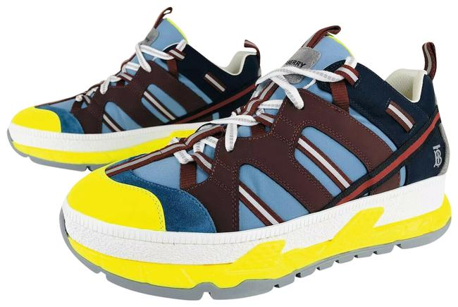 Item - Blue Men's Union Icon Stripe Mixed-media - Eu 43 Sneakers Size US 10 Regular (M, B)
