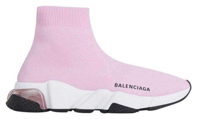 Item - Pink Speed Clear Sole Sneakers Size EU 38 (Approx. US 8) Regular (M, B)