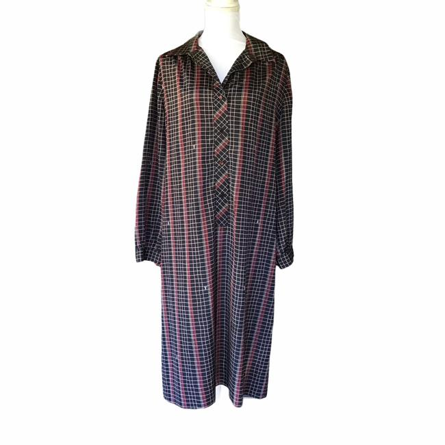 Item - Multicolor Vintage Mid-length Casual Maxi Dress Size OS (one size)
