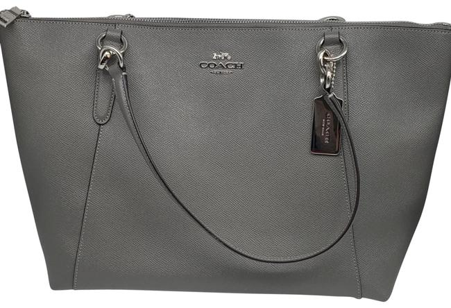 Item - Ava F57526 Heather Grey Tote