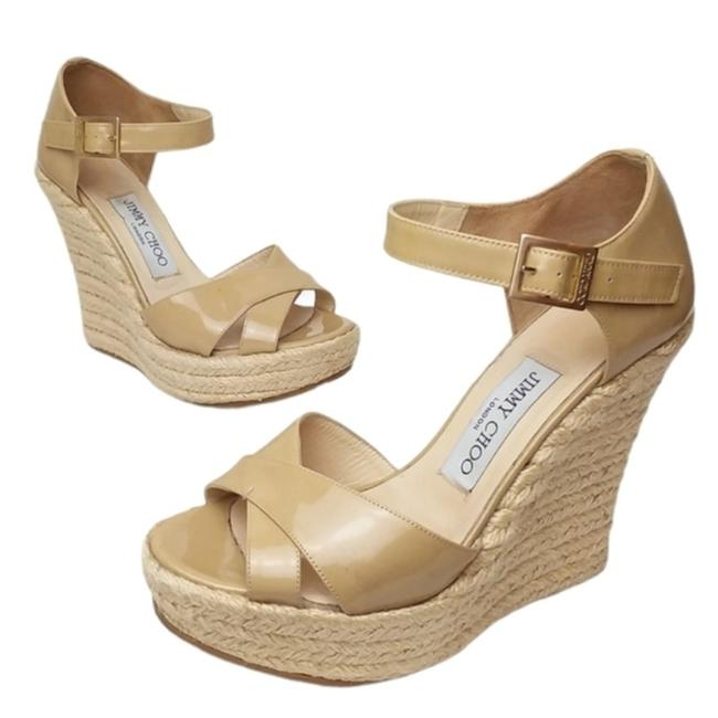 Item - Tan Pallis Platforms Size US 6 Regular (M, B)