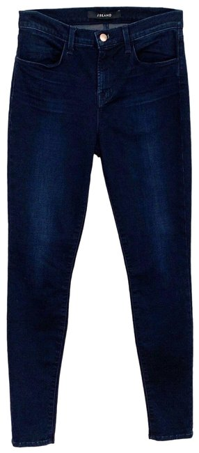 Item - Blue Dark Rinse High Maria Skinny Jeans Size 28 (4, S)