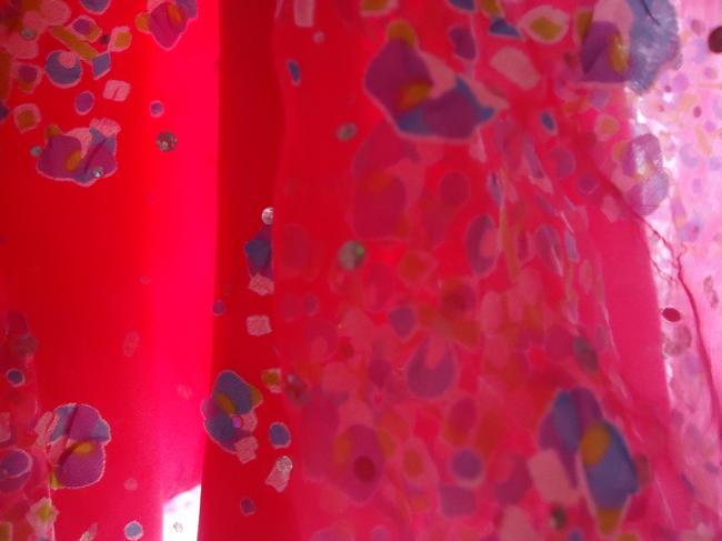 other Lined Hologram Sequins Skirt hot pink Image 2