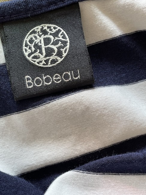 Bobeau Navy and White Striped Tank Top/Cami Size 6 (S) Bobeau Navy and White Striped Tank Top/Cami Size 6 (S) Image 5