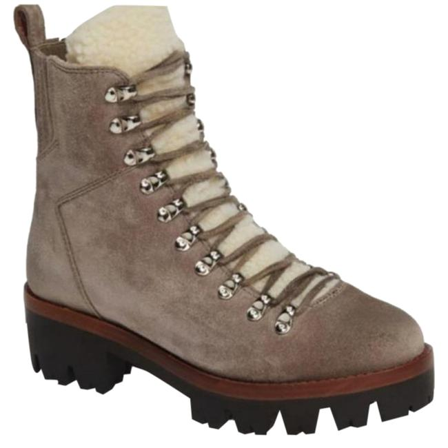 Item - Taupe Culvert Lace Up Zip Boots/Booties Size US 8 Regular (M, B)