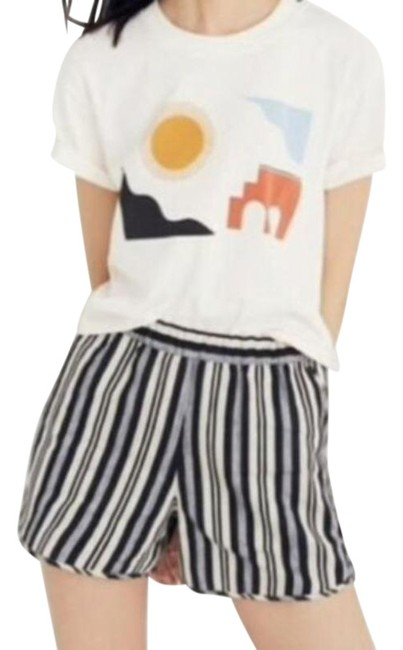 Item - Multi-color Evelyn Striped Pull On Casual Shorts Size 4 (S, 27)