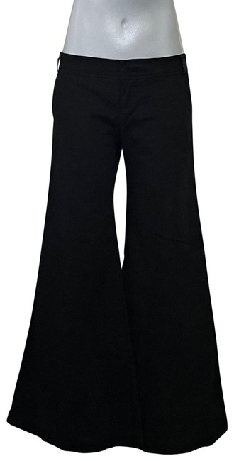 Item - Black Love From Wide Leg Tux Style Pants Size 2 (XS, 26)
