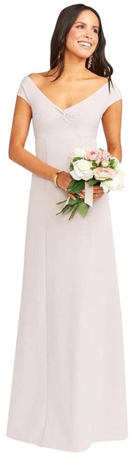 Item - Pink Zurich Knot Gown Small Long Formal Dress Size 6 (S)