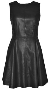 Willow & Clay Faux Leather Dress