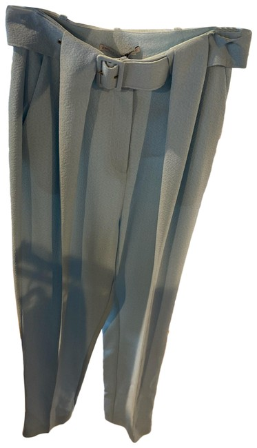 Item - Sky Blue Gino Belted Crepe Pants Size 6 (S, 28)