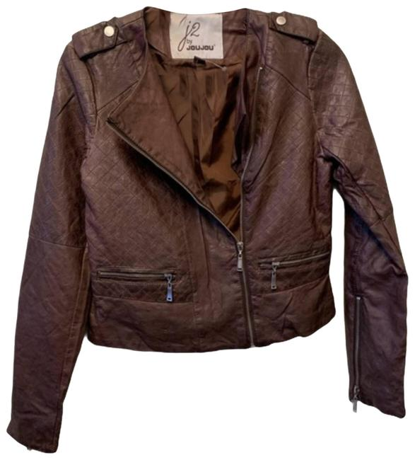 Item - Brown Nwot Small J2 By Faux Jacket Size 4 (S)