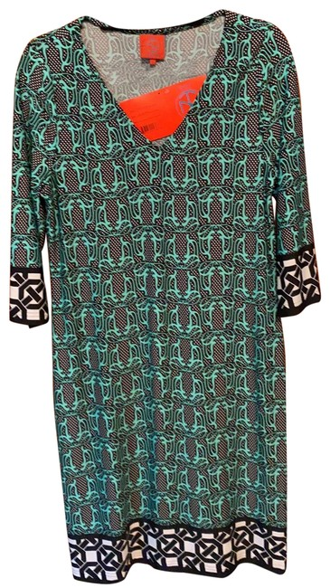 Item - Green Mid-length Night Out Dress Size 12 (L)