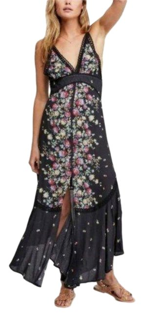 Item - Black Paradise Printed In Long Casual Maxi Dress Size 0 (XS)