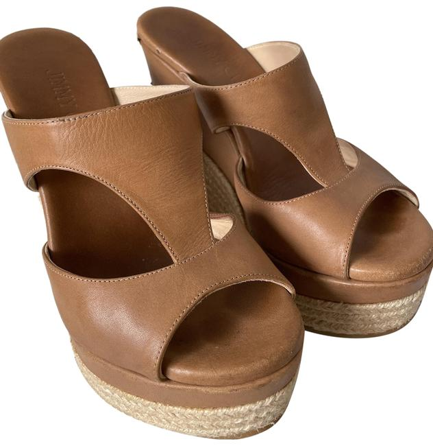 Item - Tan Pledge Platforms Size EU 35 (Approx. US 5) Regular (M, B)
