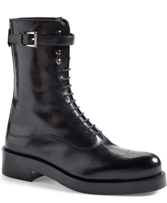 Item - Black Combat Boots/Booties Size EU 37.5 (Approx. US 7.5) Regular (M, B)