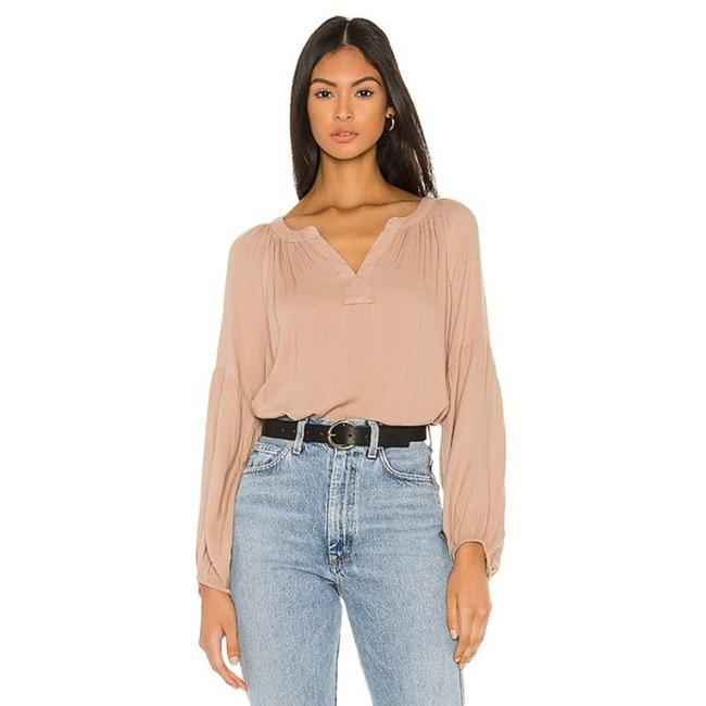 Item - Tan Relaxed In Taupe Blouse Size 8 (M)