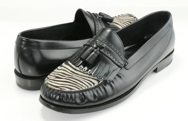 Item - Black Luco Fw19 Zebra Loafers Shoes