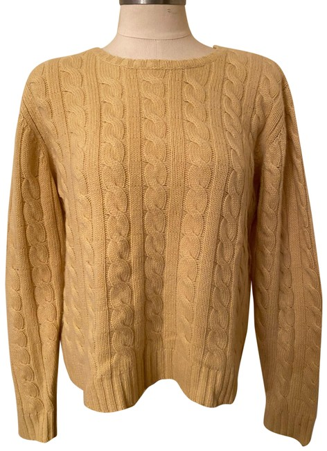 Item - Cashmere Cable and Thick Yellow Sweater