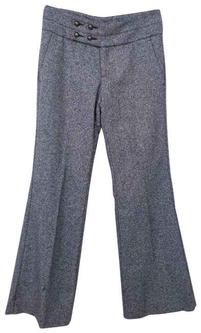 Item - Gray Wool Bend Mid Rise Trousers Activewear Bottoms Size 4 (S, 27)
