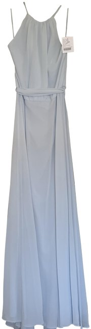 Item - Blue Kyra Long Formal Dress Size 4 (S)