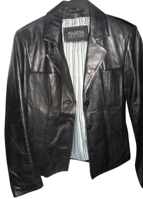 Preload https://item3.tradesy.com/images/wilsons-leather-black-leather-jacket-size-8-m-2907652-0-0.jpg?width=400&height=650