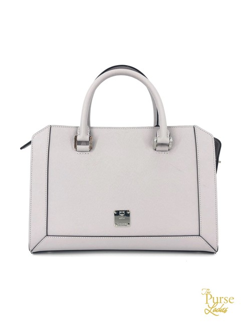 Item - Bag Nuovo 2 Way #34753 Gray Leather Tote