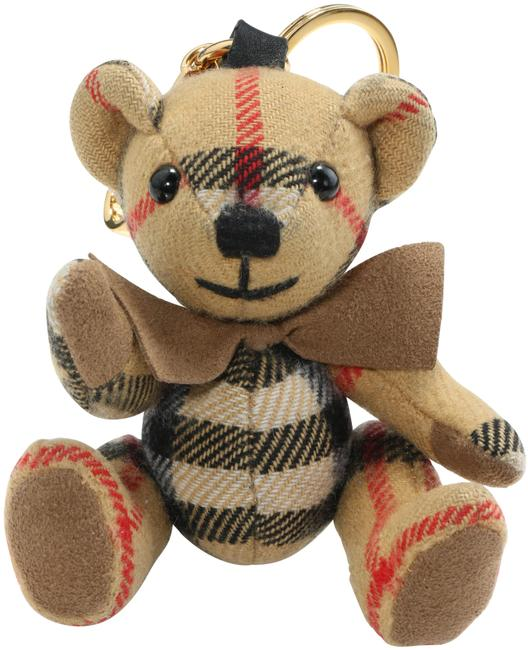 Item - Multicolor Thomas Bear Charm with Bow Tie