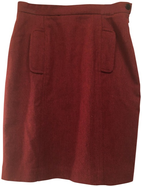 Item - Maroon Nwot Red #ca 17897 Skirt Size 10 (M, 31)