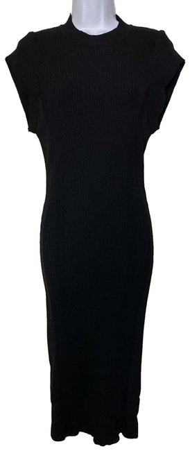 Item - Black New Sweater Msrp 375 Long Casual Maxi Dress Size 4 (S)