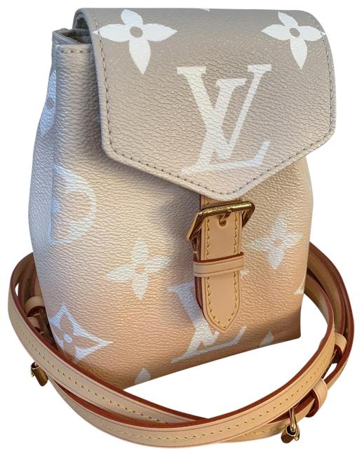 Louis Vuitton Backpack Tiny By The Pool Pink Canvas Cross Body Bag Louis Vuitton Backpack Tiny By The Pool Pink Canvas Cross Body Bag Image 1