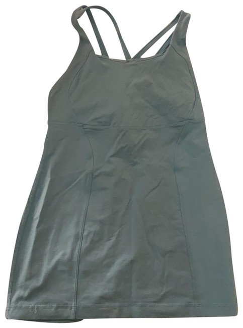 Item - Bright Blue Tank Activewear Top Size 6 (S)