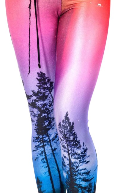 Item - Pink Enchanted Forest Leggings Size 6 (S, 28)