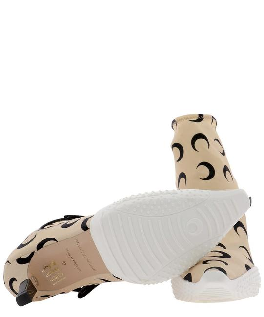Marine Serre Beige Crescent Moon Printed Ankle Boots/Booties Size EU 40 (Approx. US 10) Regular (M, B) Marine Serre Beige Crescent Moon Printed Ankle Boots/Booties Size EU 40 (Approx. US 10) Regular (M, B) Image 5