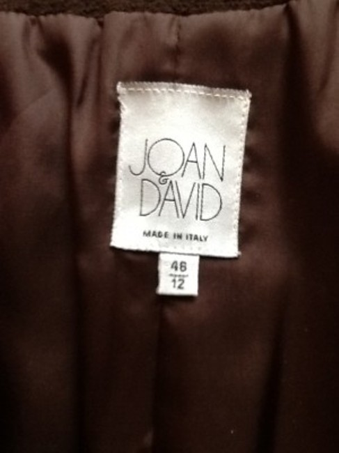 Joan & David Brown Blazer