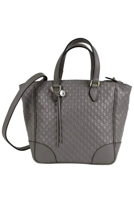 Item - Crossbody Tote Bag Bree Micro ssima Gg Red 350 Grey Leather Satchel
