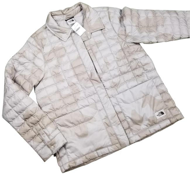 Item - Beige Thermoball Eco Quilted Jacket Size 14 (L)