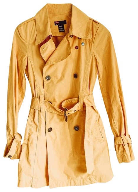 Diesel Yellow Small Coat Size 6 (S) Diesel Yellow Small Coat Size 6 (S) Image 1