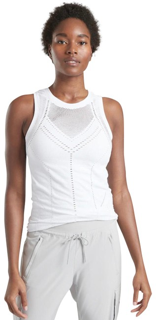 Item - White New Womens Oxygen Stretch Breathable Wicking Seamless Activewear Top Size 0 (XS)