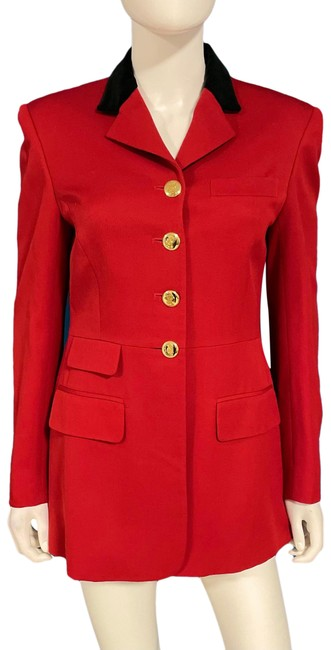 Item - Red Equestrian Riding Jacket Size 6 (S)