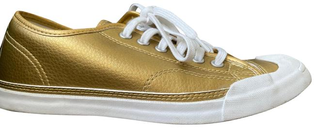 Item - Gold Womens Jack Purcell Sneakers Size US 7.5 Regular (M, B)
