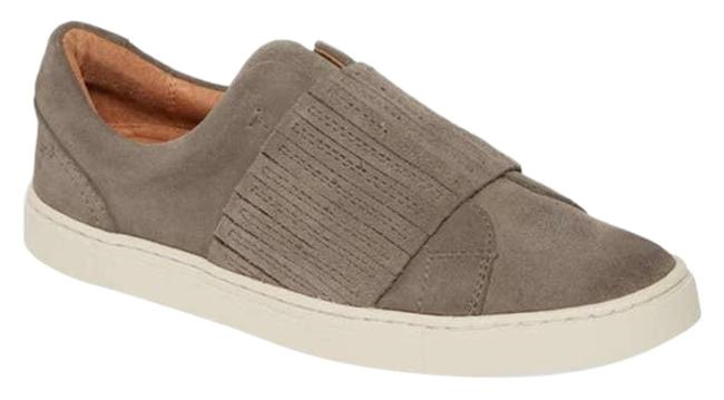 Item - Gray Nwot Ivy Gore Slip On Sneakers Dark Ash Suede Leather Flats Size US 6 Regular (M, B)