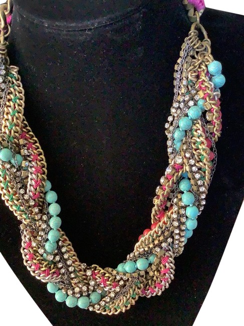Item - Blue Red Green No Number Necklace