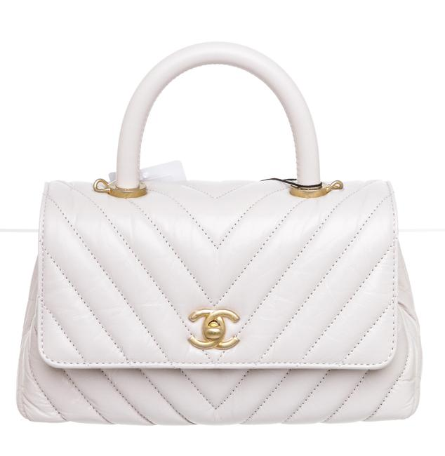 Item - Coco Handle 504297 Cream Lambskin Leather Shoulder Bag